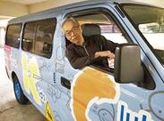 \運転するのはこのバス!!/ 免許を持っている方なら無理なく運転できますよ◎研修で少しずつ覚えられるのも安心♪