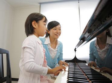 ピアノの指導ができれば、講師の経験がなくてもOK! テキスト完備&事前研修でしっかりサポートします◎