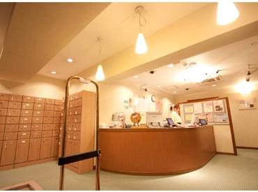 【フロント】゜*☆キレイな店内で快適にオシゴト☆*゜女性だけの特別施設でフロントSTAFFを大募集★24時間営業なので好きな時間に働ける♪