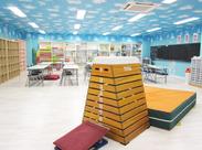 開放的なステキ部屋でお仕事♪毎日小学生の子どもたちに囲まれてほんわか幸せ気分◎子どもが好きな方、大歓迎です♪