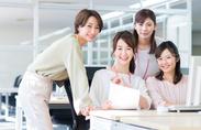 昨年8月にオープンしたばかりのキレイなオフィスで快適にお仕事できます★新潟駅から徒歩5分で通勤ラクラク!※写真はイメージ