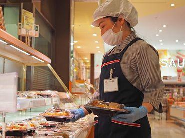 お店で作るお惣菜の種類はだいたい決まっているので、 働いているうちに自然と作り方を覚えることができますよ◎