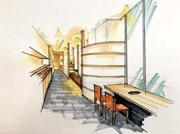 A5ランクの上質和牛も扱うお店★ ホテル エミオン 京都2階に新しくオープン! キレイで高級感のあるお店です♪