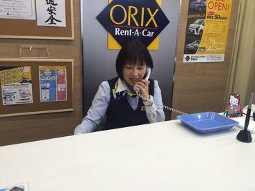お仕事はカンタン!接客や電話対応・車の回送などのお仕事です♪