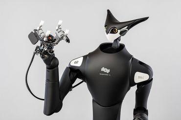 商品陳列を行うTelexistence社製ロボット(Model T)