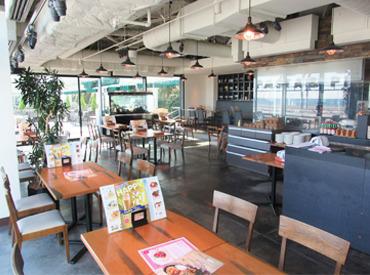【イタリアンカフェ】羽田空港なのに…★★ テラス席のある本格イタリアン ★★週1日~OK!!興味本位⇒短期スタートも大歓迎♪