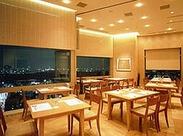 日本料理、鉄板焼、鮨の3コーナーを持つ「和」の複合店。 明るく清潔な店内、地上19階からの綺麗な夜景が自慢です。