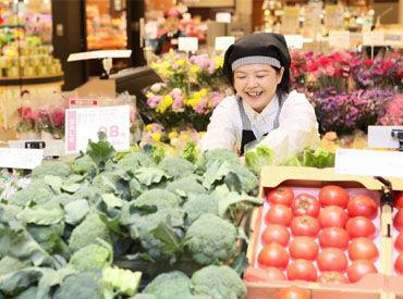 【青果スタッフ】鮮度だけでなく産地にも詳しくなれる☆彡野菜や果物の陳列などをお願いします!未経験歓迎★シフトの相談◎