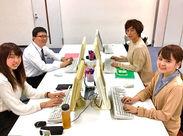 <職場環境の良さ&働きやすさに自信あり!> キレイなオフィスで快適ワーク◎勤務期間もシフトもあなたの都合に合わせてOK★
