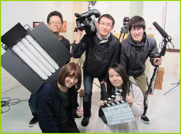 【カメラ アシスタント】【レアバイト】放送局でのお仕事♪特別なスキル・経験は必要なし◎TV番組を一緒につくろう!やりがいと楽しさ満点★★★