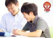 『出来た!』の笑顔がとってもウレシイ♪ 1授業の生徒は最大3名★大勢の前での授業はありません◎