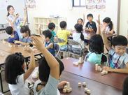 曜日ごとに奈良市内の複数の小学校を担当◎