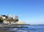 海沿いの人気の旅館です。 有名旅館ならではのお仕事を始めてみませんか? ※写真はイメージです