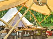 グランピングは「グラマラス」と「キャンプ」の造語。普通のキャンプとは一味違う、リゾート感覚で自然を満喫できるアウトドア♪