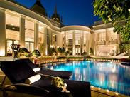 華やかな会場♪おもてなしのココロでサービスをお願いします!普段なかなか訪れない有名&高級ホテルでお仕事出来ます★