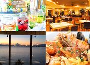 """人気のエリア""""江の島""""の、海が一望できるお洒落なレストラン☆メディアでも紹介されたお店です◎"""