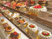 ≪福岡三越B2Fでアクセスよし★≫ 季節の新商品もぞくぞく◎ 甘~い香り&可愛いSweetsに囲まれて楽しく働けます♪