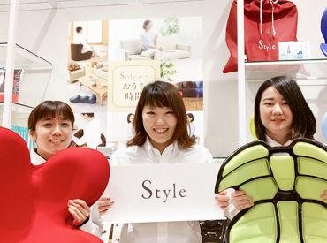 2019年11月に開業したばかりでピカピカ☆* 正しい姿勢を習慣化する 「Style」の直営店で販売のオシゴト♪