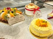 季節のフルーツや美味しい素材を使った自慢のケーキ♪.+ まずはこのケーキの種類を覚えることから始めましょう◎