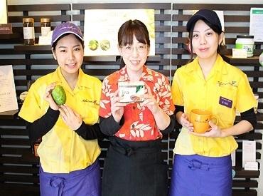 【Cafeスタッフ】野菜中心のヘルシーメニューが人気!南国感漂うオーガニックCafe*ローフード、スーパーフードetcまかないでおトクに食べれる♪