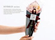 """贈り物に人気の""""花束タオル""""をはじめ、 素敵な製品の製造や梱包を一緒にしましょう。"""