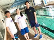 [フロント][ジムor水泳インストラクター]の業務をお任せ◎⇒未経験スタッフ大歓迎!お揃いのTシャツで楽しく働けます★