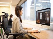 20代~40代スタッフ活躍中!渋谷駅スグのおしゃれで快適なオフィスです!服装などは自由なので仕事終わりにふらっとお出掛けも♪