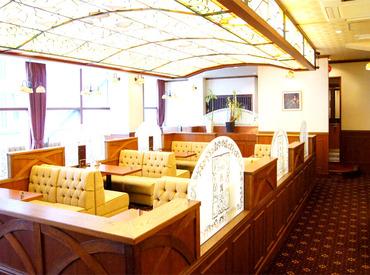 【喫茶店Staff】どこか懐かしい、昔ながらの純喫茶*◆まかない0円⇒オムライス、カレーetc.◆週2~OK⇒シフト決めは1週間ごと◎