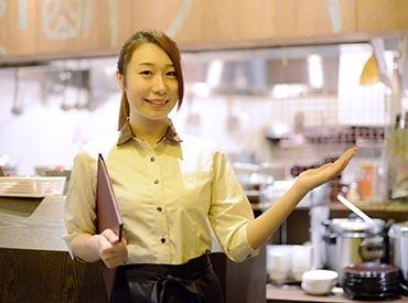 【ホールSTAFF】★;*。カラダにも嬉しい中国料理店。*;★週1日・1日5h~OKで働きやすさ抜群!美味しい餃子と楽しい時間を提供しましょう♪
