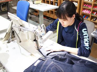 【裁縫STAFF】★裁縫や手芸が好きな方、必見★ミシンを使ったことがあればOK!<週2/3H~>空いた時間に♪家事や育児、副業との両立も◎