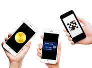 最近、テレビやネットでも話題★ 便利なキャッシュレスアプリを紹介◎ ≪時給1600円×1日≫だけでもOKですよ♪