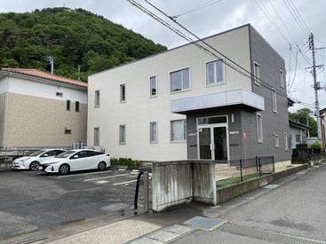 福島市内、信夫山の近くの落ち着いた環境で仕事ができます♪