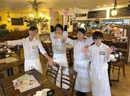 6/15(金)OPEN!お昼はお洒落なCafe♪夜はお酒なども提供するバルへ◎みんなで一緒にスタートしよう!!