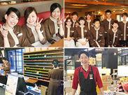 どの職場でもたくさんのアルバイトスタッフが大活躍!仕事を通じて仲間もできます♪