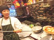 提供する料理は全て【本格イタリアン】♪まかないだって、調理STAFFが本気で作ってます!!ぜひ、お腹いっぱい食べてください◎