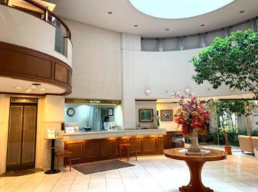 まずは笑顔であいさつから♪高津/溝ノ口駅からスグの綺麗なビジネスホテル★落ち着いたホテルなので、せかせか焦る心配もナシ◎