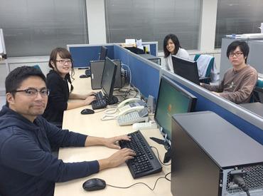 【オフィスワーク】快適な環境で働きたい方にオススメ◎>>>好条件で働きやすい♪◆ 髪型・服装自由!◆ かけもちOK!◆ 1日3h~勤務可能!