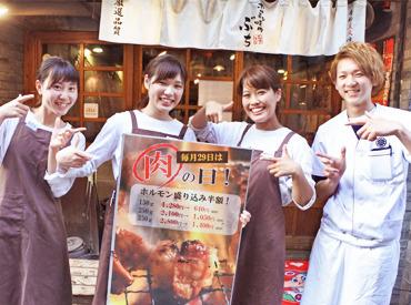 【焼肉ぶちグループ】 ★週4日以上勤務できる方優遇★ ⇒時給はなんと≪1200円~≫♪ しかも、頑張りに応じで昇給も◎