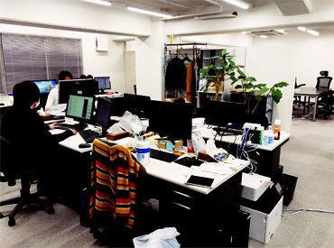 モクモク自分のペースでお仕事OK♪わからないことは社員や先輩Staffがサポートしてくれますよ◎