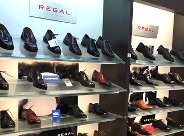 【靴の販売】★当社はリーガルシューズの子会社★未経験から靴のプロフェッショナルへ♪年齢&経験・資格不問!応募のキッカケは何でもOK♪