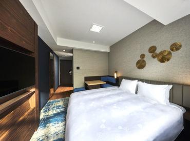 客室のイメージがこちら! 「THEシリーズ」ホテルは全国各地に多数♪