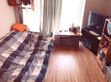 \空き部屋あります!/ 都内にこれだけいい条件の家、 正直ないです!(笑) ベッドは新品の布団です◎
