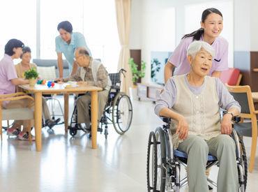 介護職への興味を活かし、お手伝いから始めませんか? 日常生活を通して利用者さんと楽しく過ごしましょう♪ ※画像はイメージ