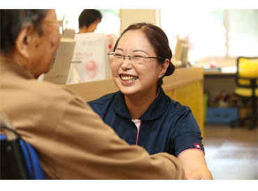 【ケアマネジャー】職場見学OK!≪ケアマネジャー≫ご入居者さまもスタッフも毎日笑顔で過ごしています働きやすい⇒◆週3日~/4h~OK!◆