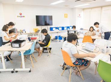 「子どもが好き」「お世話するのが好き」 そんな方に向いているお仕事☆ JR東日本グループ運営の習い事教室です♪