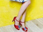 ≪ファッション好きチューモク!≫細やかな研修で靴の知識がぐんぐん身につくんです♪お気に入りの靴は社割でお得にゲット◎