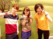 『アパレルに興味がある』、『ゴルフが好き』etc...始める理由はコレでOK★ゴルフ経験者も大歓迎!