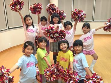 【ダンスインストラクター】\【ダンスが好きな方】【子ども好きな方】必見★/子どもたちに楽しくチアを教えるお仕事です♪指導経験がなくてもOK◎