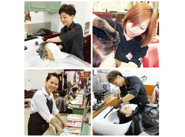 【アシスタント】<免許なしで、憧れのサロンデビュー♪>充実の教育制度あり!⇒これから美容師をめざす方にも◎地域で愛されているお店です★