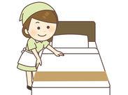 普段の家事の延長ではじめられる「ホテル清掃」のお仕事です◎ブランクが気になる方でも、すぐに慣れちゃいます♪